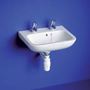 Armitage Shanks Commercial Sanitaryware -  Armitage Shanks Portman 21 Basin 50cm White Of Nchn 2th