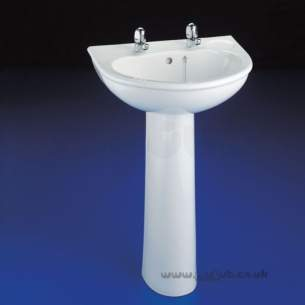 Armitage Sandringham Select -  Armitage Shanks Sandringham Select S2113 560mm 2th Basin Wh