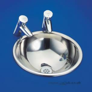 Armitage Shanks Commercial Sanitaryware -  Armitage Shanks Troon S2624 360mm Vanity Basin Ss