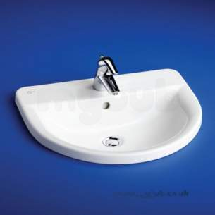 Ideal Standard Concept -  Ideal Standard Arc E797701 550mm 2th C/top Basin White