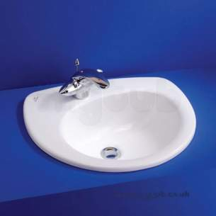 Ideal Standard Create -  Ideal Standard Drift E3085 500 X 430 One Tap Hole Right Hand C/t Basin Wh