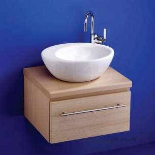 Ideal Standard Create -  Ideal Standard Drift E3081 440 X 360mm Vessel Basin White