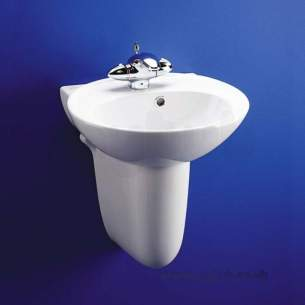 Ideal Standard Luxury -  Ideal Standard Kyomi 450mm Hand-rinse Basin White Special