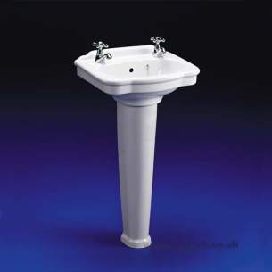 Ideal Standard Classic -  Ideal Standard Reflections E4690 450mm Ped Basin Wh