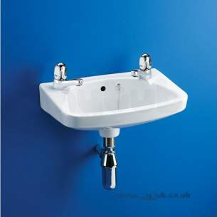 Ideal Standard Baronet -  Ideal Standard Baronet E1530 450mm 2th Basin White Obsolete