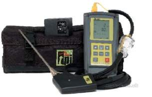 Test Products International Detectors -  Tpi 709r/kit Flue Gas Analyser 709r-kit