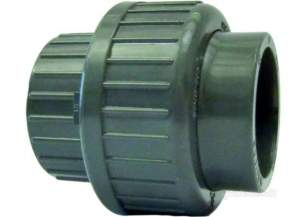 Georg Fischer Upvc Fittings and Valves Metric -  Georg Fischer Upvc Union Dn80 90 721510313