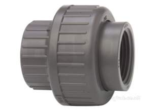 Georg Fischer Pvc Fittings 1 and Below -  Georg Fischer Upvc Union Bsp 215106 1/2 721510606