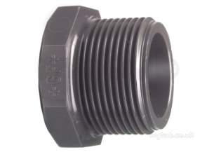 Georg Fischer Pvc Fittings 1 and Below -  Georg Fischer Upvc Plug 219619 3/4 721961907