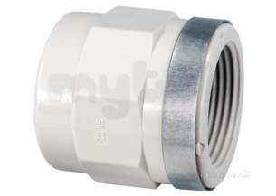Georg Fischer Pp Tube and Fittings Metric -  Georg Fischer Pp Adpt Socket P/t 279102 50x1.1/2