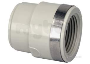 Georg Fischer Pp Tube and Fittings Metric -  Georg Fischer Pp Reducing Bush P/t 299104 25x1/2