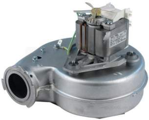 Caradon Ideal Domestic Boiler Spares -  Caradon Ideal 077839 Fan Assy