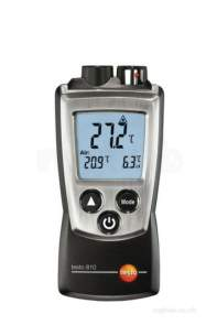 Testo Core Products -  Testo 810 Air And Surface Temp Measurement