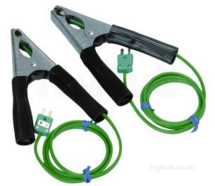 Regin Products -  Regin V45 Croc. Type Pipe Clamp Probes Pair-k Type