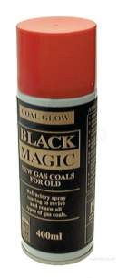 Glow Worm Products Sprays -  Glowworm Coal Glow Black Magic 400ml