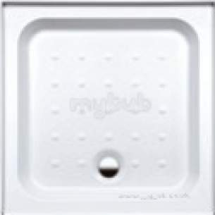 Coram Waterguard Shower Trays -  Coram 760mm 2-w/g 2-ups Tray White