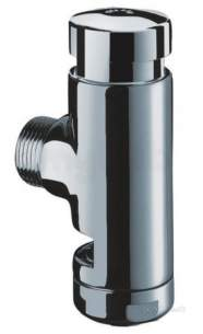 Delabie Accessories and Miscellaneous -  Delabie Tempoflux Wc 28 Exposed Valve M3/4 Inch Angled 7sec Time Flow