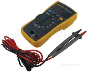 Fluke Test Equipment -  Fluke 116 Multimeter Temp Control And Amps