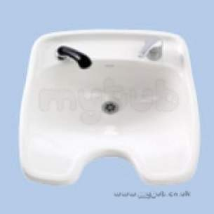 Twyfords Commercial Sanitaryware -  Hairdressers Vc4001 Basin White Obsolete