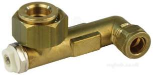 Andrews Water Heater Spares -  Andrews E847 Pump Elbow And Vent Union