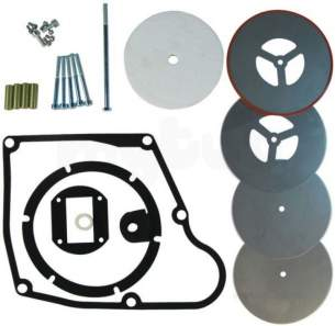 Andrews Water Heater Spares -  Andrews E933 Baffles Service Kit