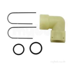 Worcester Boiler Spares -  Worcester 87161410530 Press Releif Connector