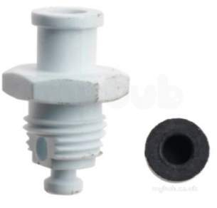 Worcester Boiler Spares -  Worcester 87161200370 Drain Screw Assy
