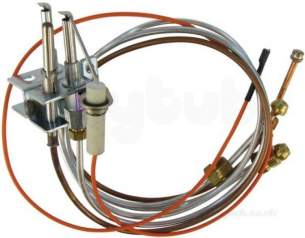 Andrews Water Heater Spares -  Andrews E180 Pilot Burner Assembly