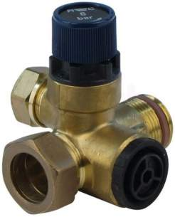Andrews Water Heater Spares -  Andrews C781 Expansion-check Valve 3-4
