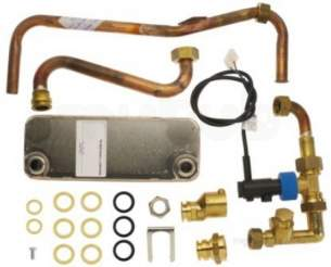 Worcester Boiler Spares -  Worcester 77161922080 Heat Ex C/w Proxi Switc