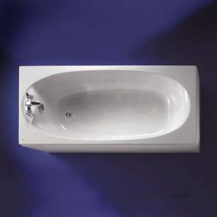 Ideal Standard Acrylic Baths -  Ideal Standard Kyomi 1800 X 800mm Nth Acr Bath White