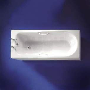 Armitage Shanks Acrylic Baths -  Armitage Shanks Montana S1561 1700mm No Tap Holes Acr Tg Bath Wh
