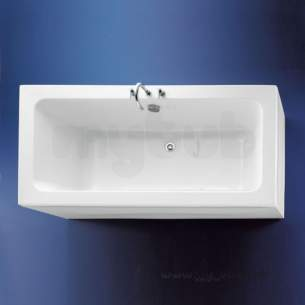 Ideal Standard Acrylic Baths -  Ideal Standard White E0023 1700 X 800mm No Tap Holes Bath White