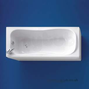 Ideal Standard Acrylic Baths -  Ideal Standard Uniline E4140 700mm End Panel Wh