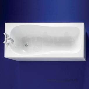 Ideal Standard Create Acrylic Baths -  Ideal Standard Create E319101 1700 X 750mm Nth Bath White