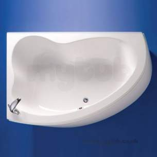 Ideal Standard Create Acrylic Baths -  Ideal Standard Create Bath 1600x1050 Left Hand No Tap Hole Corner Bath White