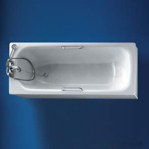 Armitage Shanks Steel Baths -  Armitage Shanks Sandringham Orima S169601 1700 2th Ngh As Steel Bath