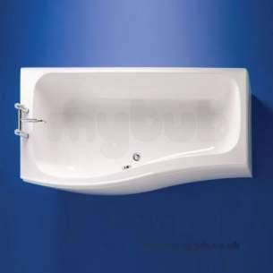 Ideal Standard Create Acrylic Baths -  Ideal Standard Create E3172 1700 X 800 Nth Rh Shower Bath Wh