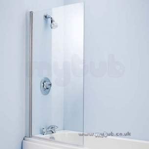 Ideal Standard Acrylic Baths -  Ideal Standard Studio L9142aa 845mm Bath Scr Cr Slv/clr