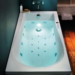 Ideal Standard Art and design Baths -  Ideal Standard Tonic 1700 X 800 Left Hand Bath No Tap Holes Inc Pnl And Waste Wh