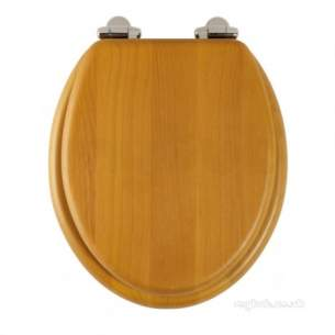 Roper Rhodes Toilet Seats -  Jupiter 8070 S/close S/wood Seat A/pine