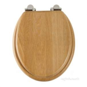 Roper Rhodes Toilet Seats -  Jupiter 8070 S/close Sld Wood Seat Oak