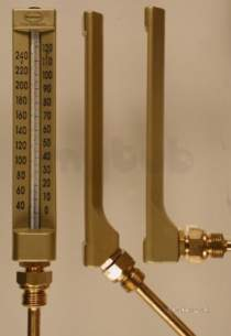 Brannan Thermometers -  Brannan V Line G Therm 0/160c 63mm81/293