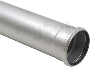 Blucher Europipe Range -  125mm Pipe Apr 1000mm Long 811.100.125