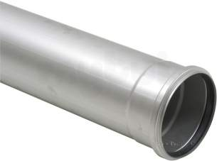 Blucher Drainage -  125mm Pipe Apr 1000mm Long 811.100.125 S