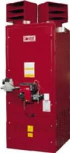Combat Oil Air Heaters -  Combat Pgpv40 Vert Cab Air Heater Gas 117kw