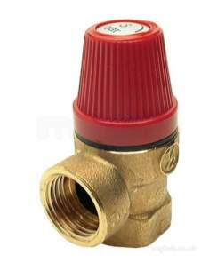 Altecnic Sealed System Equipment -  Altecnic 1/2 Inch Fxf Safety Valve 3 Bar