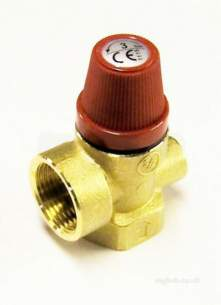 Altecnic Sealed System Equipment -  Altecnic Safety Valve 3 Bar 0.75 Inch
