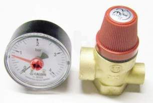Altecnic Sealed System Equipment -  Altecnic 1/2 Inch Fxf Safety Valve And Gauge