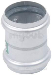 Blucher Europipe Range -  Double Slip Coupling 50mm 842.050.050 S